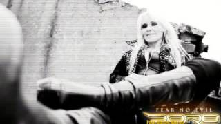 DORO PESCH - Black Rose