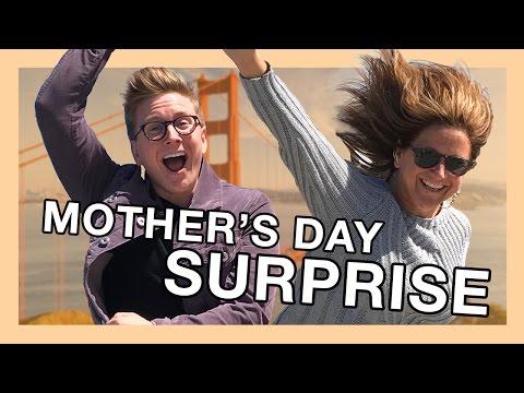 Mother's Day Surprise ft. Queen Jackie | Tyler Oakley