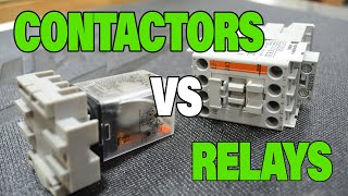 Episode 28 - The Difference Between Contactors And Relays - ELECTROMAGNETIC SWITCHES
