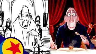 Anton Ego's Ratatouille Memory | Pixar Side-by-Side