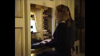 Алина Никитина - J. S. Bach: BWV 680: Wir glauben all'an einen Gott