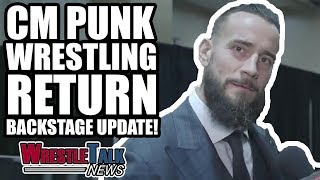 MAJOR WWE SmackDown News! CM Punk Wrestling RETURN Backstage UPDATE! | WrestleTalk News May 2018