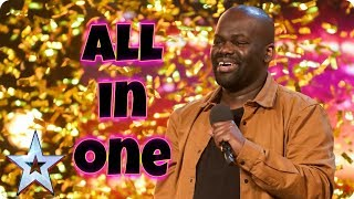 Daliso Chaponda - 3rd Place - Full Auditions - Britain's Got Talent 2017 [ Plus results ]