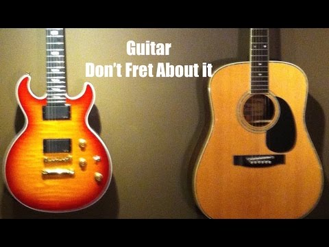How to play beginner guitar chords G7, C7 and D7