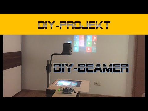 DIY Beamer aus LCD und Overhead | danprogramming