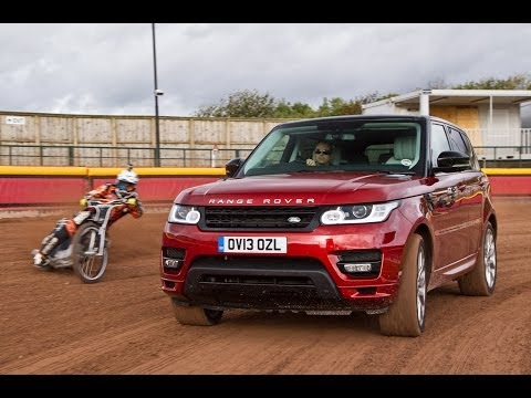 Range Rover Sport vs speedway world champion
