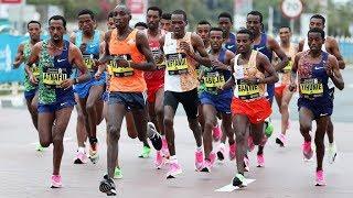 Crazy Men's Finish At Dubai Marathon 2020