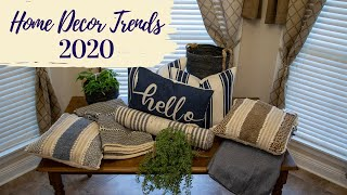 Home Decor Trends 2020| Colors And Styling