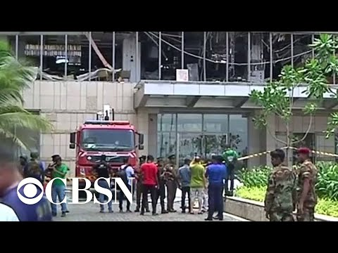 Explosions at churches, hotels kill dozens in Sri Lanka on Easter