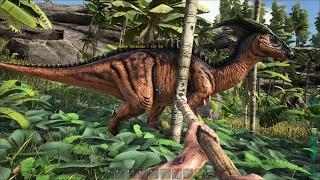 ARK: Survival Evolved #4 - Bắt Thành Công Con Khủng Long Parasaur ^_^