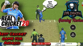 Best Cricket game for Android Mobile / Nautilus Mobile  Real Cricket  20