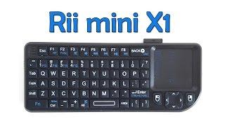מקלדת אלחוטי מדגם Rii mini X1