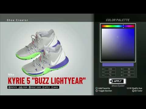 4102ffdf0f3 NBA 2K19 Shoe Creator
