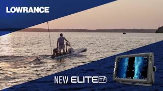 Эхолот/картплоттер Lowrance Elite-9 Ti² Active Imaging 3-in-1 від компанії CyberTech - відео