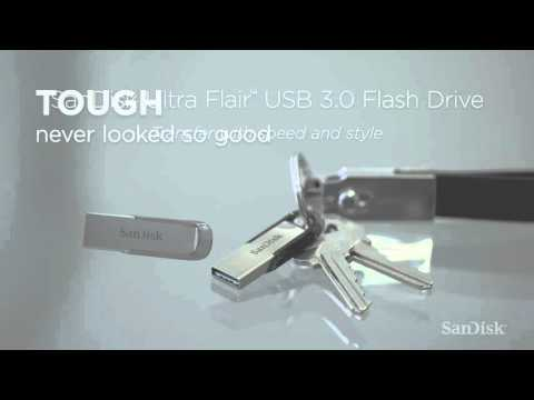 Sandisk Ultra Flair (16GB, USB 3.0)