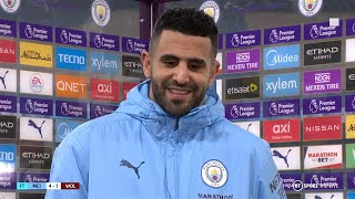"""""""We compete very well. It's the only way to improve."""" Mahrez welcomes squad competition at Man City"""