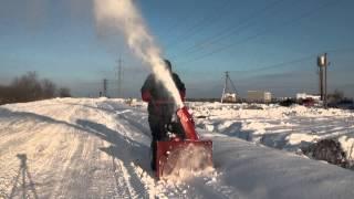 Самоходный снегоуборщик МОБИЛ К С65К7 видео