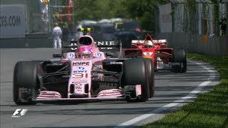 2017 Canadian Grand Prix: Race Highlights