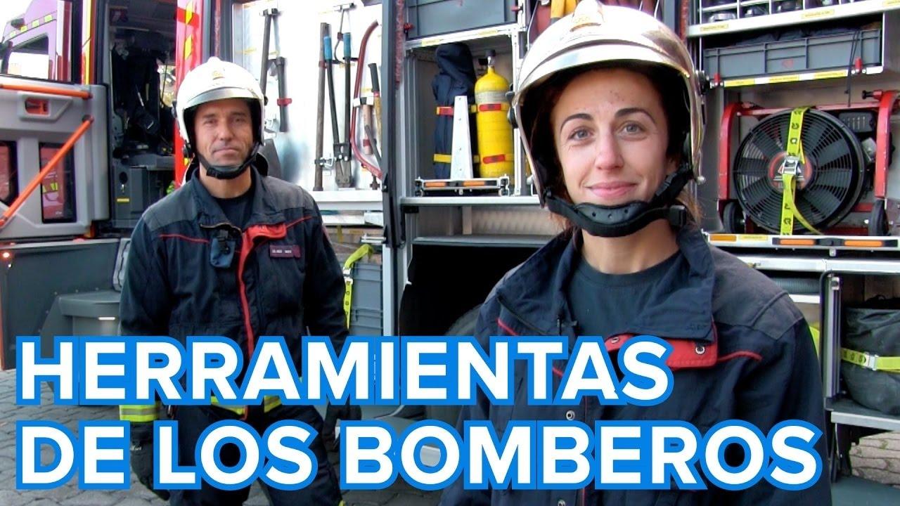 Qué herramientas utilizan los bomberos | Vídeos educativos para niños