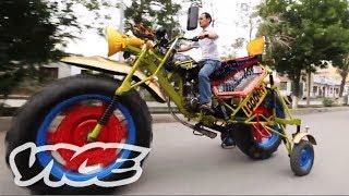 ウイグル人発明家と巨大バイク-DIYInventors:MassiveBike!