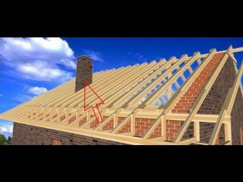 Строительство крыши пошагово. Поймут все. / Roof construction step by step (English subs)