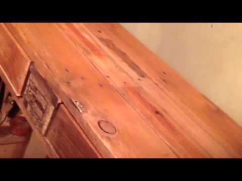Holz mit Bootslack imprägnieren