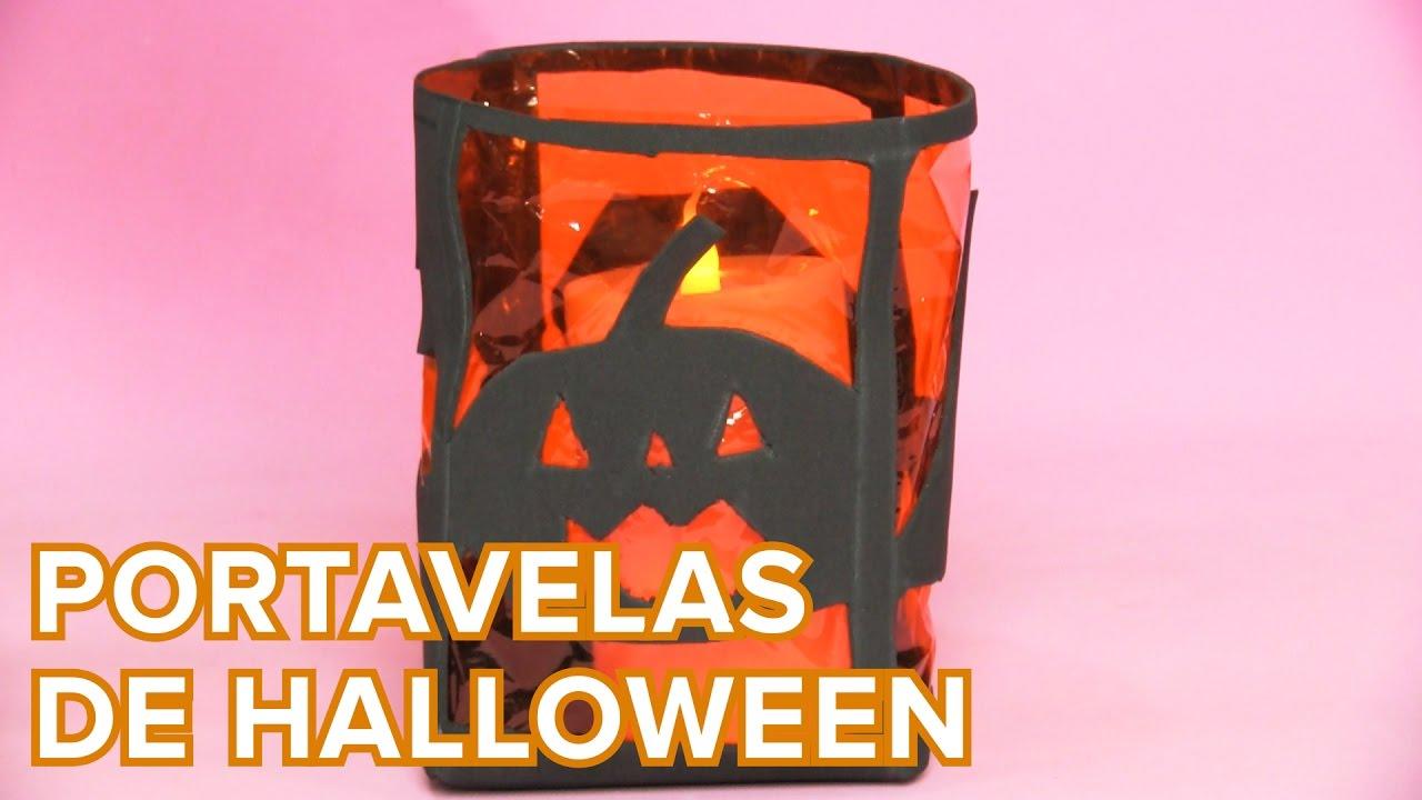 Portavelas para Halloween | Manualidades infantiles