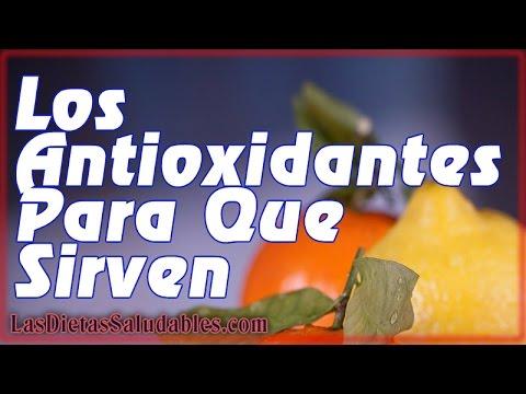 Los Antioxidantes Para Que Sirven  ▓█ ►Mantente Siempre Joven Con Los Antioxidantes