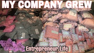 NEW‼️ ENTREPRENEUR LIFE: MY BUSINESS GREW OVERNIGHT! SHIPPING ORDERS, VENDOR ADVICE + INVENTORY!