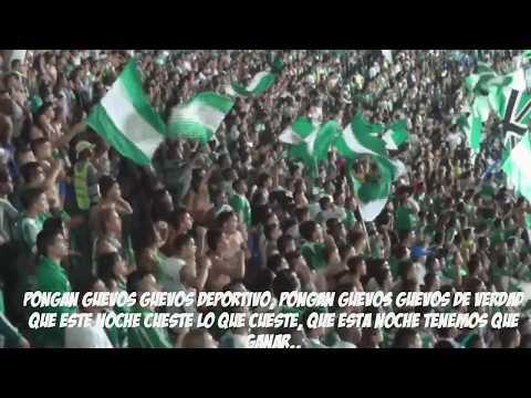 """Frente Radical Verdiblanco - Deportivo cali vs Nacional 02/02/2014 liga postobon"" Barra: Frente Radical Verdiblanco • Club: Deportivo Cali"