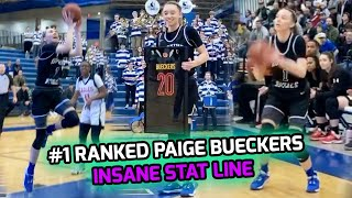 Paige Bueckers Receives McDonald's All American Jersey & Goes For 23 PTS, 10 AST, 9 STL, And 8 REB 😳