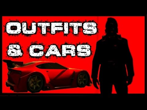 (GTA 5 Online) My Current Halloween Outfits And Car Show