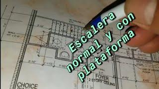Tutorial  explicando como sacar escaleras con la calculadora máster pro 05