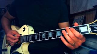 Dokken - Jaded Heart - Guitar Lesson - Part 2 - Chorus, Interlude, Guitar Solo