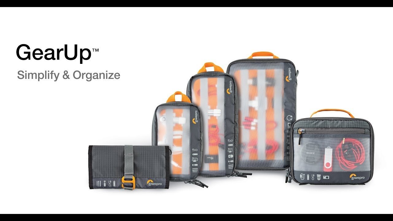 נרתיק בינוני Lowepro GearUp Pouch Medium 3