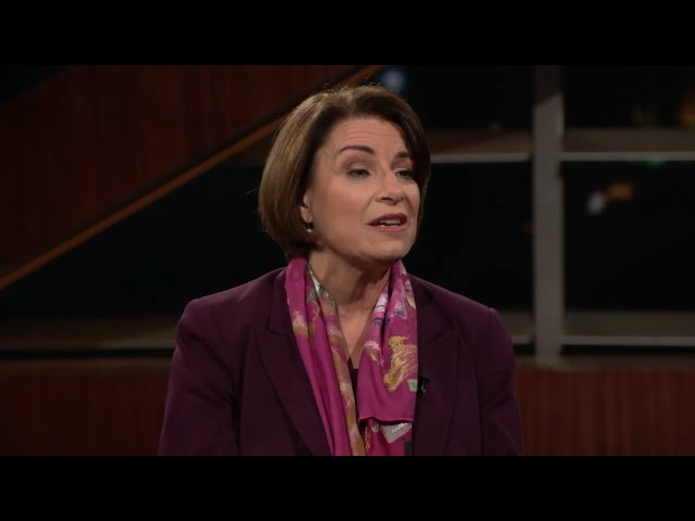 One On With Amy Klobuchar Real Time Bill Maher Hbo