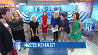 Master Mentalist Lior Suchard Returns! | Studio 10