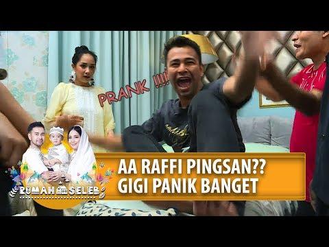 Download AA RAFFI PINGSAN?? GIGI PANIK BANGET - Rumah Seleb (13/5) PART 1 HD Mp4 3GP Video and MP3