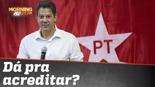 Haddad diz que PT não é de esquerda