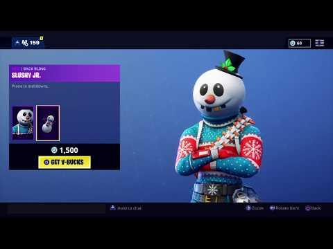 Fortnite Item Shop New Slushy Soldier Skin December 13th 2018