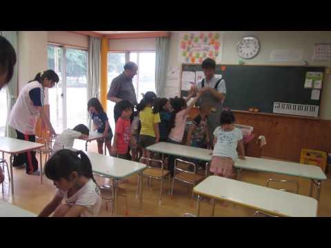 英語教室でインターンシップ2