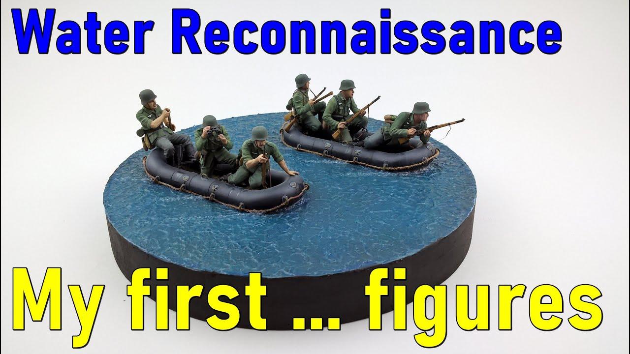 #10 Water Reconnaissance – 1/35 Vignette (small diorama)