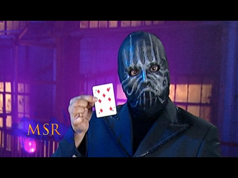 HOLE-Y CARD TRICK, MASKED MAN! Mp3