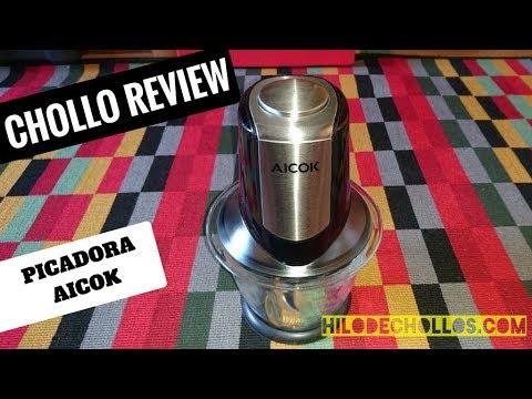 Chollo review picadora Aicok