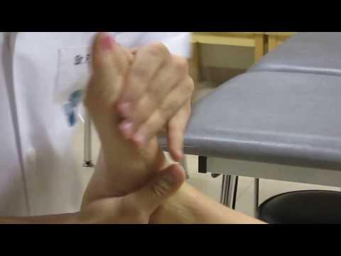 Rachide cervicale di un neonato