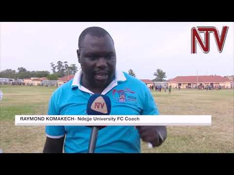Ndejje University beats Maroons FC in Luzira