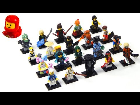 Vidéo LEGO Minifigures 71019 : The LEGO Ninjago Movie