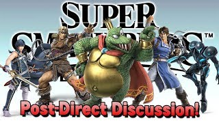 Super Smash Bros. Ultimate Direct - Post-Direct Discussion! - Is the Ballot Choosing Newcomers?!