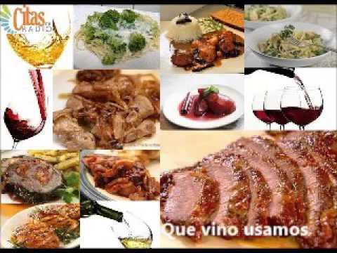 Cita gourmet: Platos, recetas y vinos para cocinar y maridar. 29-10-15