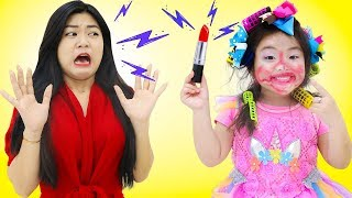 Annie Pretend Play with Make Up Toys & Dress Up for a Festival